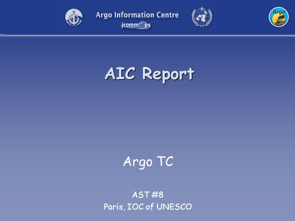 2 Argo Status 2804 Active Floats 2643 on GTS 2743 at GDACs 115 (258) on grey list
