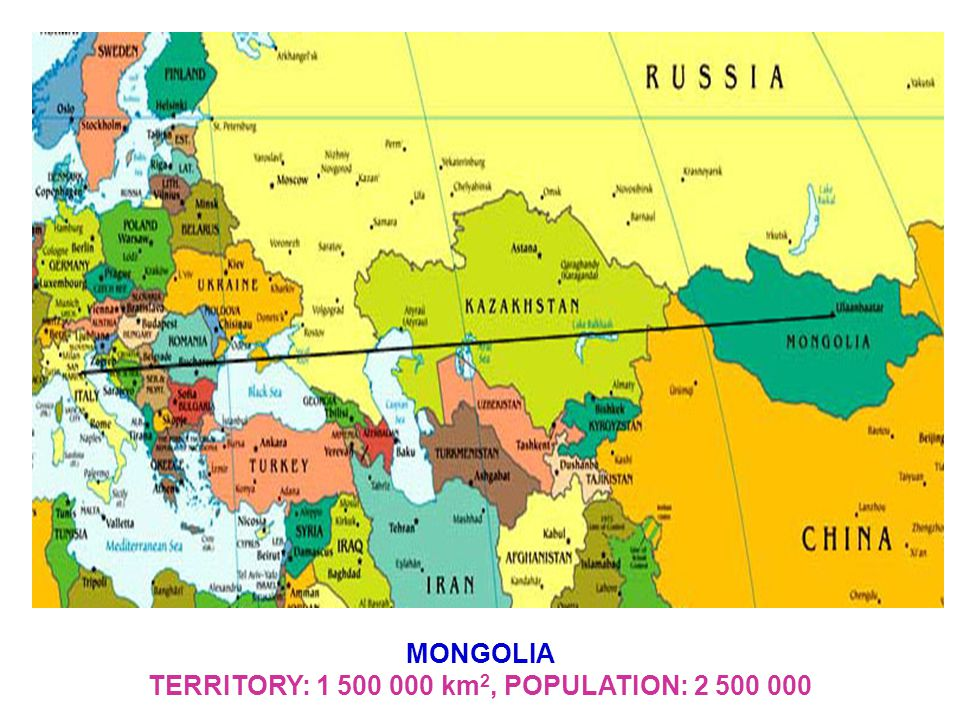 ULAANBAATAR is Capital of Mongolia Inhabitants - 1 300 000
