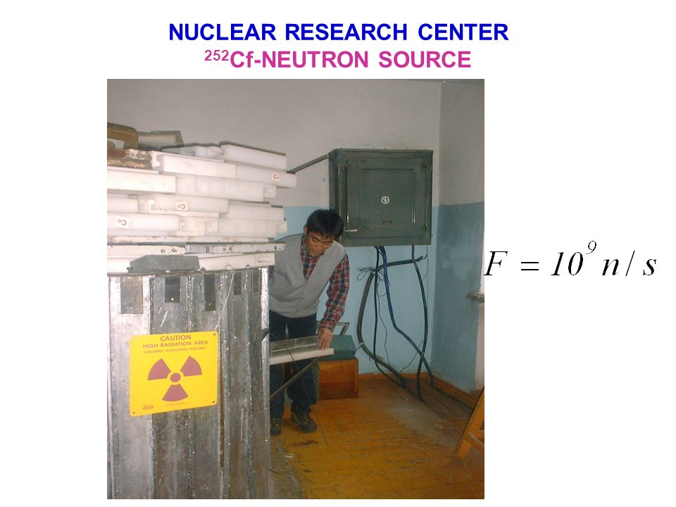 NUCLEAR RESEARCH CENTER MICROTRON MT-22