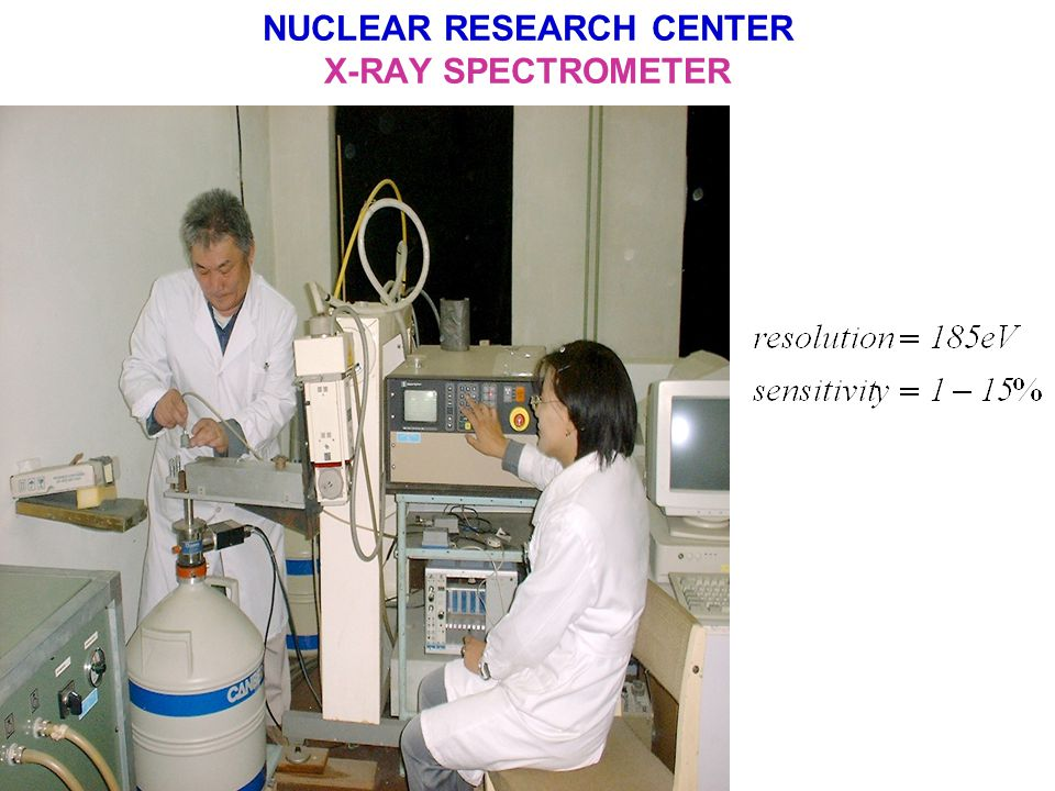 NUCLEAR RESEARCH CENTER RADIOCHEMICAL LABORATORY