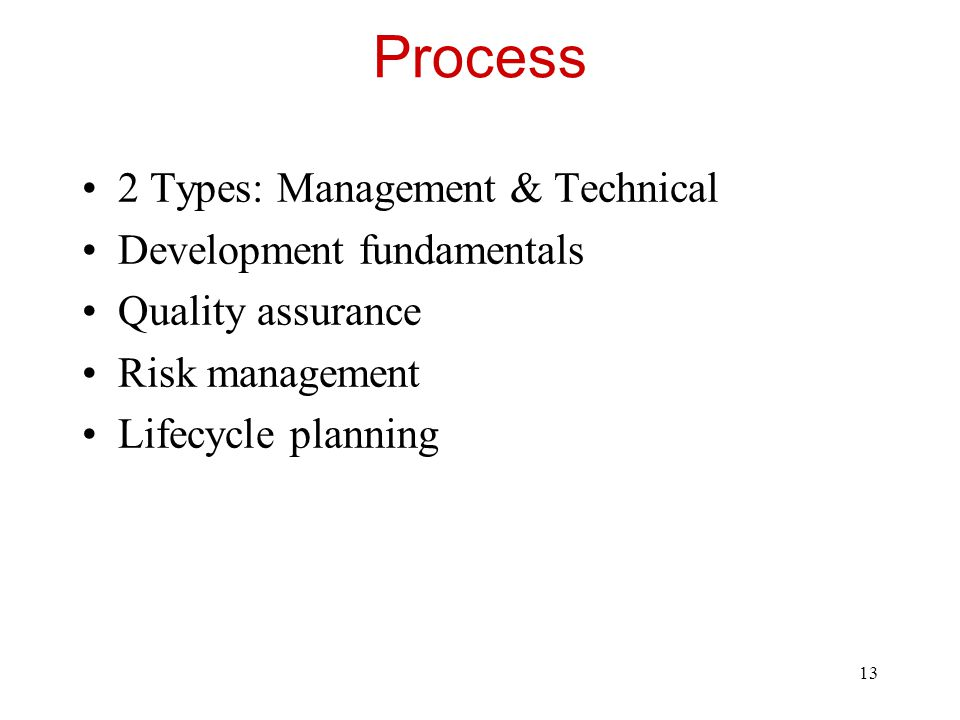 14 Process 2 Customer orientation Process maturity improvement Rework avoidance