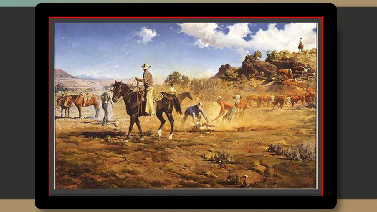 ▪ Painted at the historical Babbitt Ranch in Northern Arizona.
