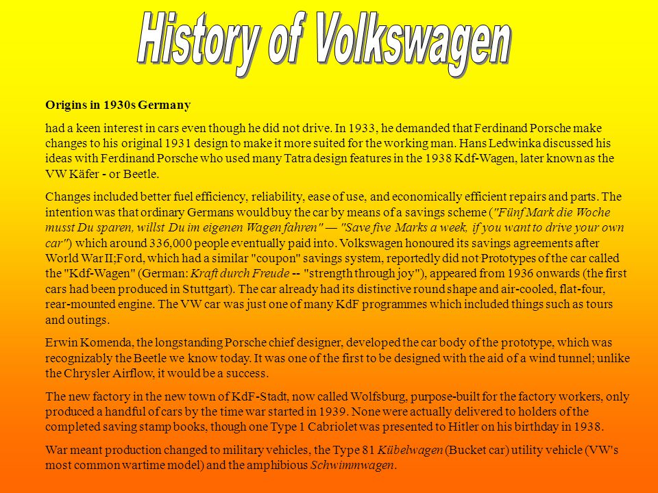 Volkswagen began introducing Volkswagen an array of new models after Bernd Pischetsrieder became Volkswagen Group CEO (responsible for all Group brands) in 2002.
