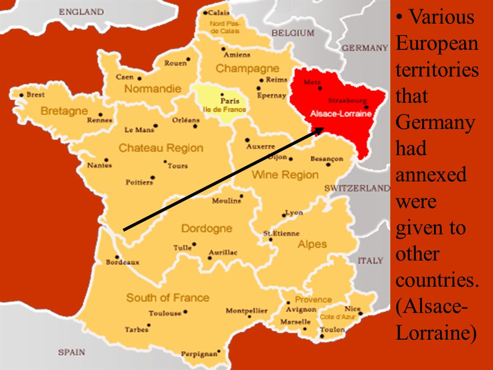 More Treaty of Versailles Terms Germany army was limited to no more than 100,000 troops.