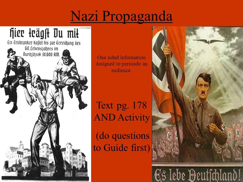Nazism: Why Was It Embraced.