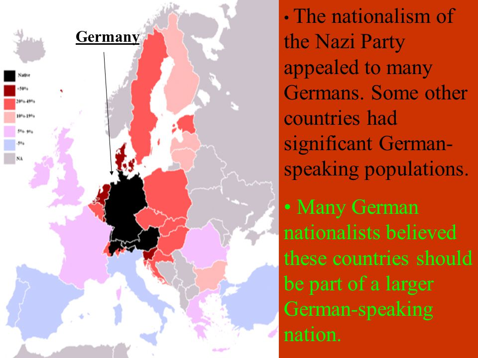 Other Appeals of Nazism Germany had a long military tradition.