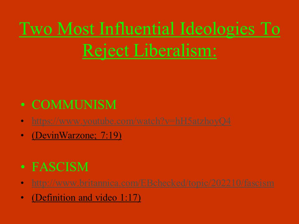 Both Communism and Fascism Used Totalitarian Gov'ts Totalitarianism: use of gov't to exert complete control over EVERY aspect of its citizen's lives On the USSR's flag hammer = industrialization scythe = collectivized agriculture On the Nazi's flag swastika = ancient symbol denoting luck Since Hitler, to most Westerners it denotes evil