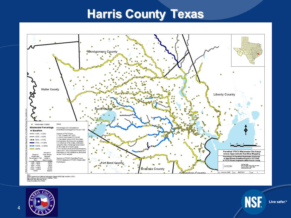 5 Background – Regrowth Potential  Almost every stream in Harris County is listed by the EPA as impaired due to high bacteria (E.