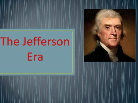 Thomas Jefferson Democrats thought they were saving the nation from monarchy. Believed the Alien and Sedition Acts violated the Bill of Rights (freedom.