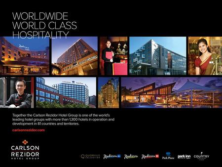 0 1 Carlson Rezidor Hotel Group is one of the world's largest and most dynamic hotel companies with a fantastic portfolio of seven extraordinary brands.