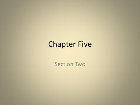 Chapter Five Section Two. Growing Inequality and Unrest and a New Role for the Army Senate – Made up of landed aristocracy – Governed Rome – Becoming.