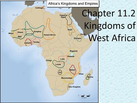 Chapter 11.2 Kingdoms of West Africa. Objectives: 1.To understand why gold and salt were so important. 2.Describe how the early rulers of Ghana, Mali,