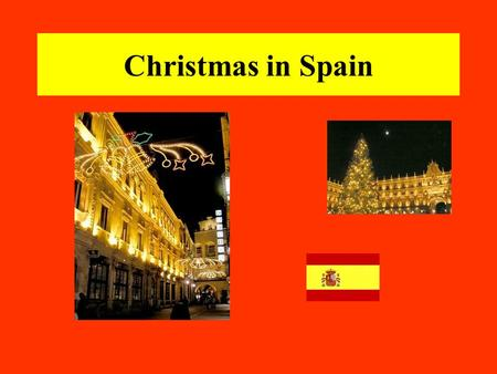 Christmas in Spain. December 8th - This is the public holiday of Immaculada (Feast of the Immaculate Conception) which marks the beginning of the religious.