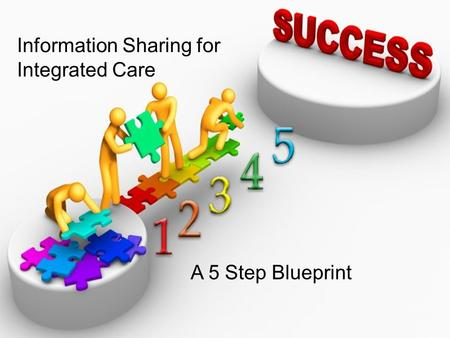 Information Sharing for Integrated Care A 5 Step Blueprint.
