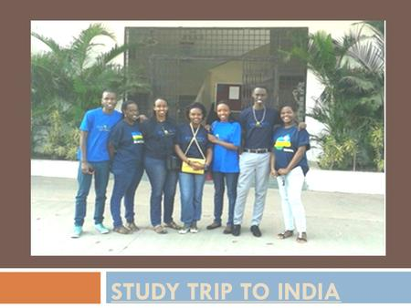 STUDY TRIP TO INDIA. Students from STES-RWANDA VISITED STES PANDHARPUR Engineering College in order to thank teachers who come to teach in STES RWANDA.