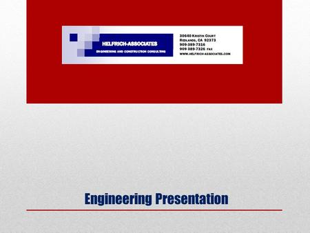 Engineering Presentation. Basic Soil Mechanics Soil type classification Gravel, sand, silt, clay Soil strength classification Granular soils (sand and.