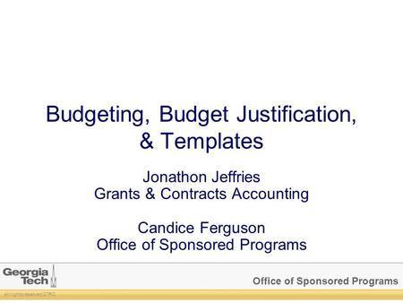 Understanding facilities administrative f a costs for Budget justification template
