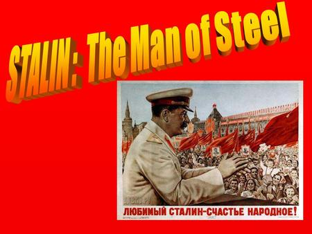 Soviet Dictator Joseph Stalin was the leader of the Soviet Union during World War II The Soviet Union was part of the Allied Powers ( along with England,