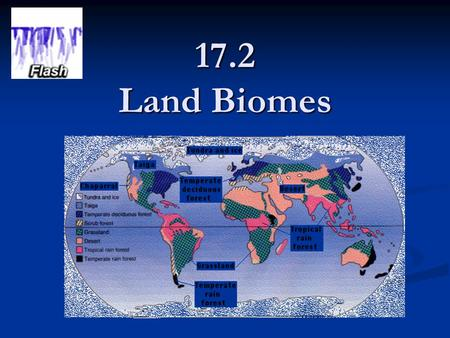 17.2 Land Biomes. Why do you think there are so many different kinds of organisms in a tropical rain forest?