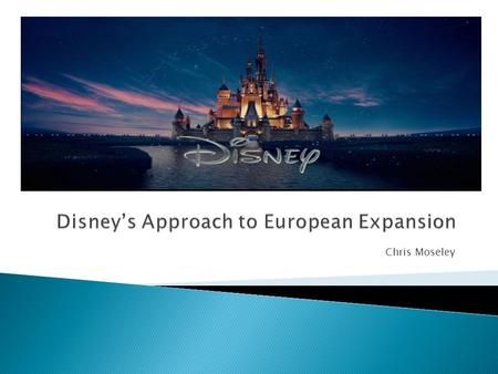 Chris Moseley.  Opened in 1983 – First expansion outside of United States.  Disney took no equity in the project and invested no money for construction.