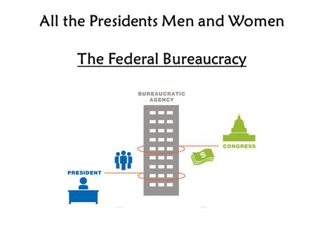 All the Presidents Men and Women The Federal Bureaucracy.