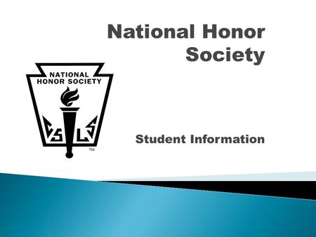 National Honor Society Student Information. The Faculty Committee will grant membership in the National Honor Society to only the most qualified candidates.