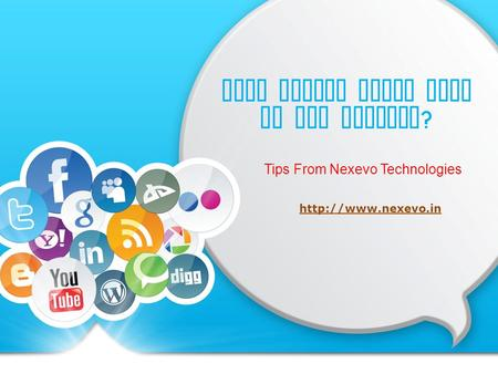 Will Social Media Help In SEO Ranking ? Tips From Nexevo Technologies
