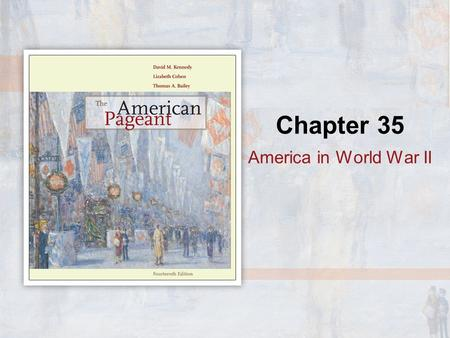 Chapter 35 America in World War II. Enemy Aliens When the United States suddenly found itself at war with Germany, Italy, and Japan in December 1941,