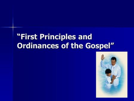 """First Principles and Ordinances of the Gospel"". Isaiah 28:9-10 9 Whom shall he teach knowledge? and whom shall he make to understand doctrine? … 10 For."
