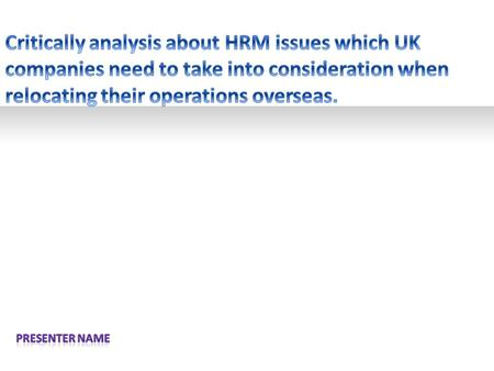 ? Example text Go ahead and replace it with your own text. This is an example text. Your own footerYour Logo HR MANAGEMET CHALLENGES SCOPE OF HRM AND.
