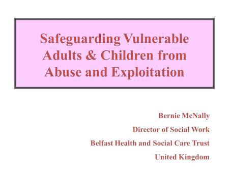 safeguarding children in social work Managing a child protection plan the child protection review conference unless otherwise specified, the same approach is to be taken with regard to a review child protection conference (rcpc) as with an initial child protection conference in relation to.