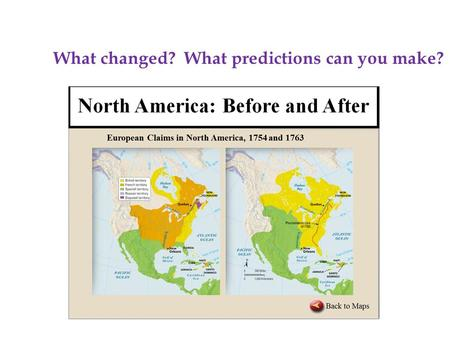 W W What changed? What predictions can you make?