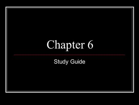 Chapter 6 Study Guide. Administration The officials in the executive branch of government.