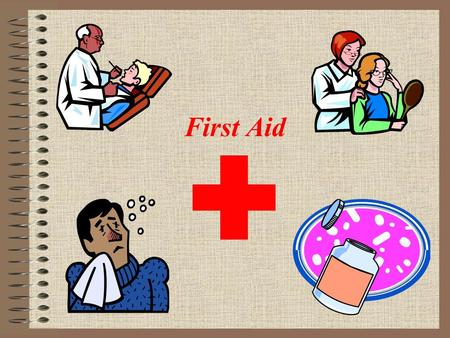 First Aid. Bell Ringer (Day 3) Pick either 1 or 2 to write half page red to red about. 1.Is it better to enjoy your money when you earn it or is it better.