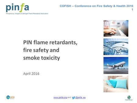 COFISH – Conference on Fire Safety & Health 2016 1  and COFISH – Conference on Fire Safety & Health 2016 1.