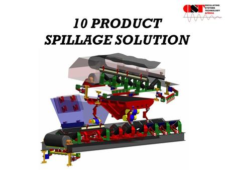 10 PRODUCT SPILLAGE SOLUTION. IMPACT BED ADVANTAGES Protect belt and conveyor truss from impact and vibration. Ensures good spillage control. No replacing.