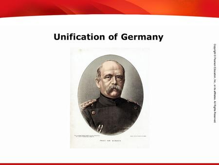 TEKS 8C: Calculate percent composition and empirical and molecular formulas. Unification of Germany.