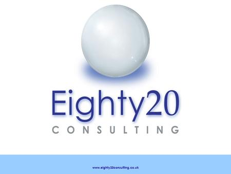 Www.eighty20consulting.co.uk. OHSAS 18001 - Occupational health and safety management system.