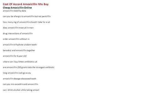 Usa Purchase Cheap Amoxil (Amoxicillin)
