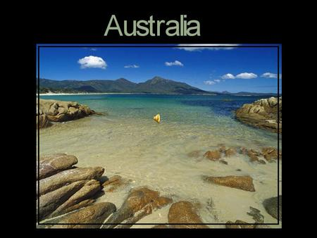 The name Australia is derived from the Latin australis, means southern. Aussie is a common, colloquial term for Australian. History of the Name.