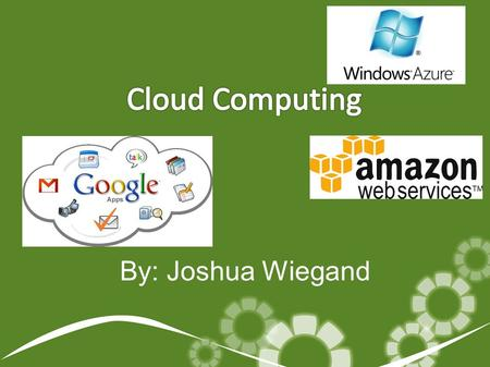 By: Joshua Wiegand. Overview ● What is the cloud computing? ● History of Mobile Computing ● Service Models ● Deployment Models ● Architecture ● Security.