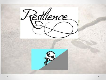 Resilience What is it? For materials it means : - The ability of an object to spring back into shape - Being elastic Like a spring!
