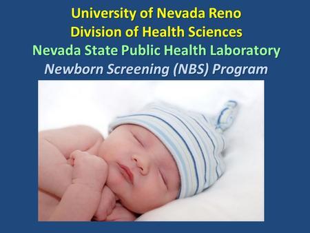 newborn screening program The children's of alabama pediatric endocrine department is a proud partner of  the alabama department of public health's alabama newborn screening.