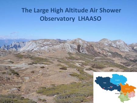 The Large High Altitude Air Shower Observatory LHAASO.