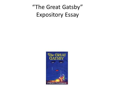 thesis on great gatsby american dream