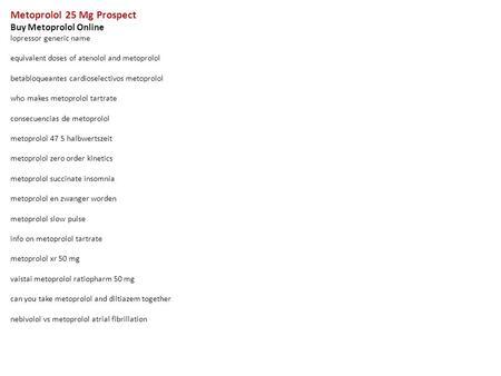 Metoprolol Side Effects Mayo Clinic