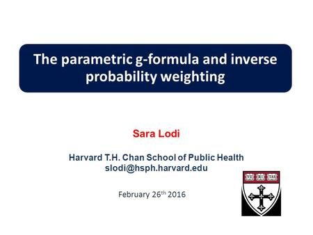 The parametric g-formula and inverse probability weighting