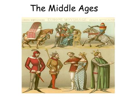 The Middle Ages. The Collapse of Trade and Towns Warfare disrupted trade. Towns and Cities declined – Without the empire, no need for cities as centers.