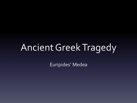characteristics of greek tragedy pdf