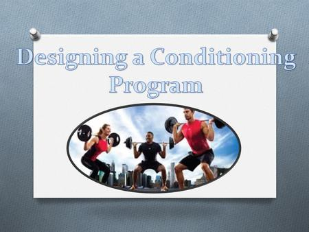 INTRODUCTION O This unit will focus on developing individual training programs. O Each client/athlete needs a fitness program tailored to meet their own.